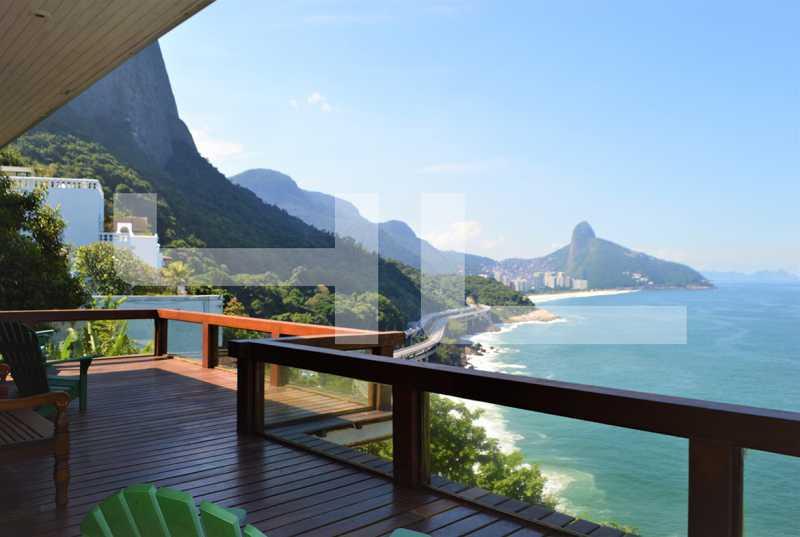 VISTA - Casa em Condomínio 3 quartos à venda Rio de Janeiro,RJ - R$ 4.999.000 - 00360CA - 1