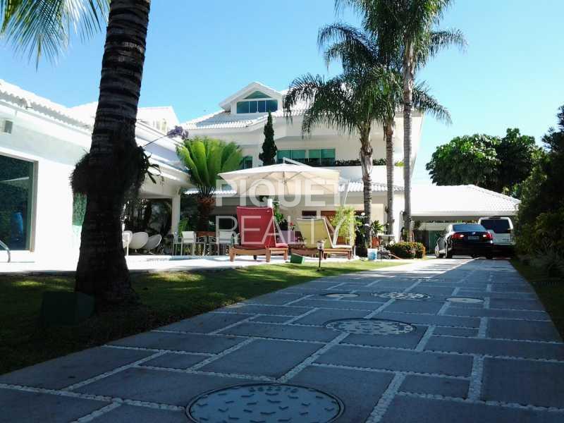 FACHADA - Casa em Condomínio 5 quartos à venda Rio de Janeiro,RJ - R$ 4.490.000 - 00033CA - 1