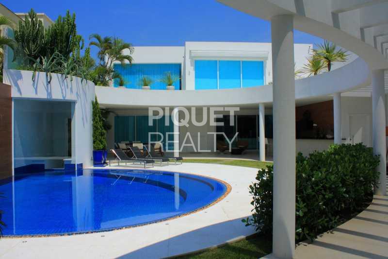 FACHADA - Casa em Condomínio 4 quartos à venda Rio de Janeiro,RJ - R$ 10.799.000 - 00035CA - 7