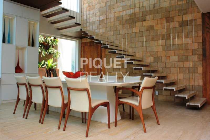 DINING ROOM - Casa em Condomínio 4 quartos à venda Rio de Janeiro,RJ - R$ 10.799.000 - 00035CA - 15