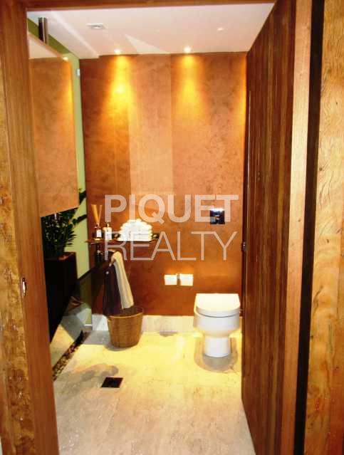 LAVABO - Casa em Condomínio 4 quartos à venda Rio de Janeiro,RJ - R$ 10.799.000 - 00035CA - 16