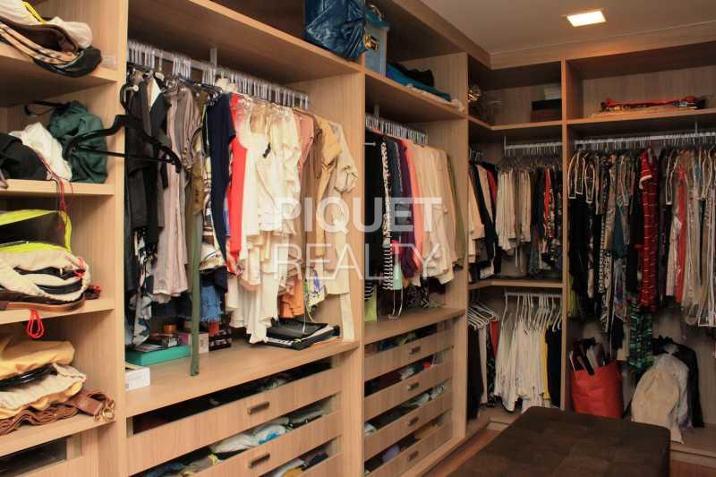 CLOSET MASTER - Casa em Condomínio 4 quartos à venda Rio de Janeiro,RJ - R$ 10.799.000 - 00035CA - 24