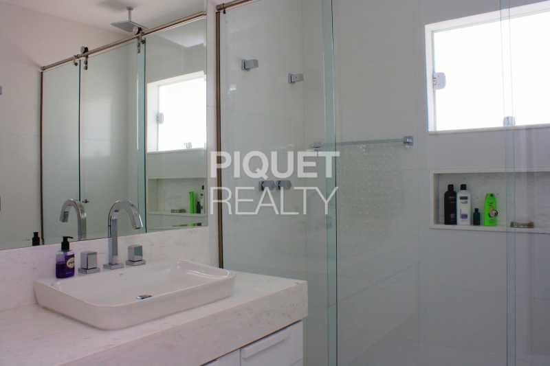 BANHEIRO SUITE - Casa em Condomínio 4 quartos à venda Rio de Janeiro,RJ - R$ 10.799.000 - 00035CA - 30