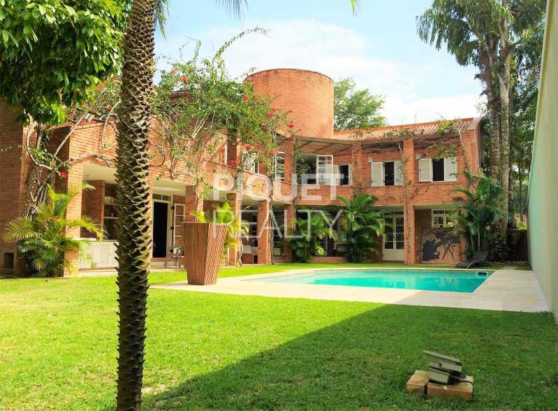 FACHADA - Casa em Condomínio 7 quartos para venda e aluguel Rio de Janeiro,RJ - R$ 4.690.000 - 00037CA - 1