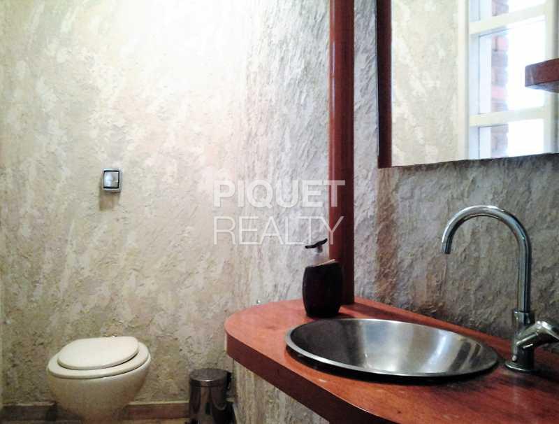 LAVABO - Casa em Condomínio 7 quartos para venda e aluguel Rio de Janeiro,RJ - R$ 4.690.000 - 00037CA - 8