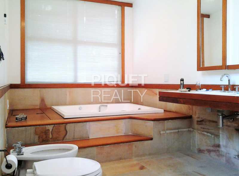 BANHEIRO MASTER - Casa em Condomínio 7 quartos para venda e aluguel Rio de Janeiro,RJ - R$ 4.690.000 - 00037CA - 18