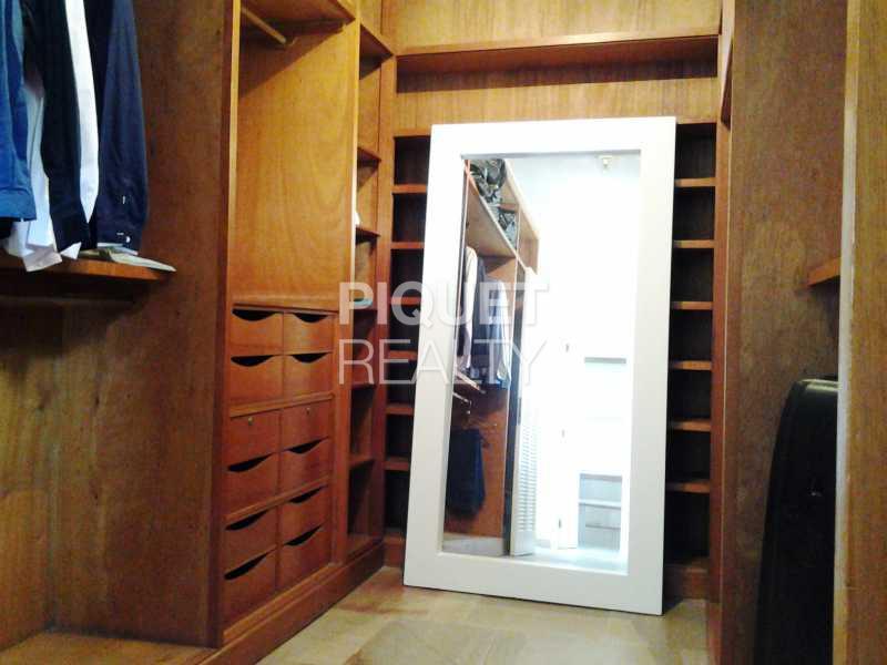 CLOSET MASTER - Casa em Condomínio 7 quartos para venda e aluguel Rio de Janeiro,RJ - R$ 4.690.000 - 00037CA - 17