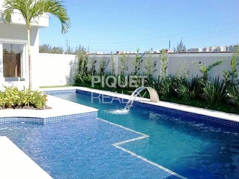 PISCINA - Casa em Condomínio 4 quartos à venda Rio de Janeiro,RJ - R$ 5.699.000 - 00042CA - 5