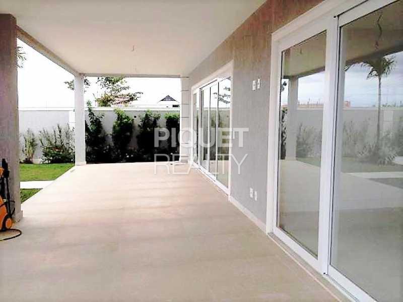 VARANDA - Casa em Condomínio 4 quartos à venda Rio de Janeiro,RJ - R$ 5.699.000 - 00042CA - 6