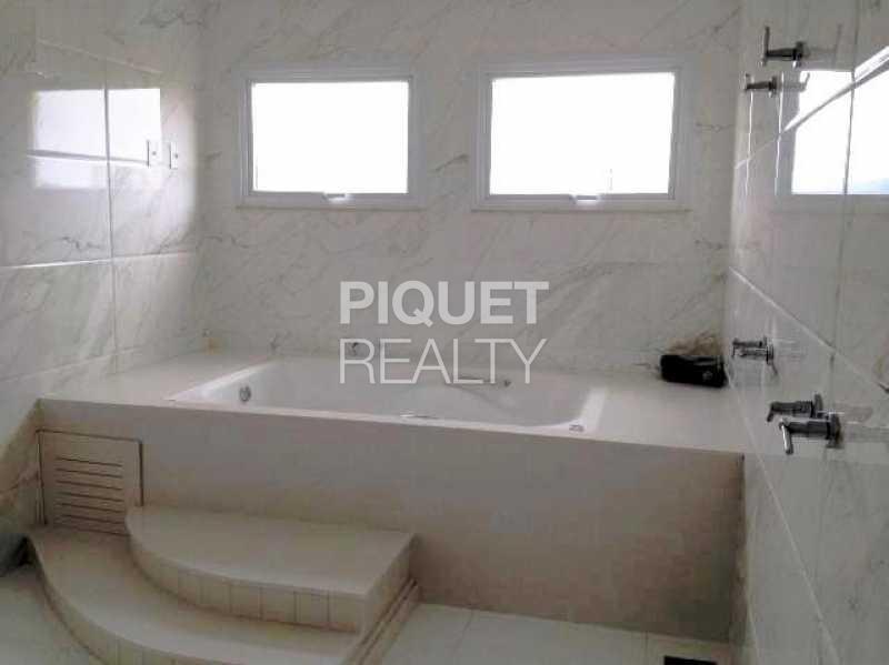 BANHEIRO MASTER - Casa em Condomínio 4 quartos à venda Rio de Janeiro,RJ - R$ 5.699.000 - 00042CA - 10
