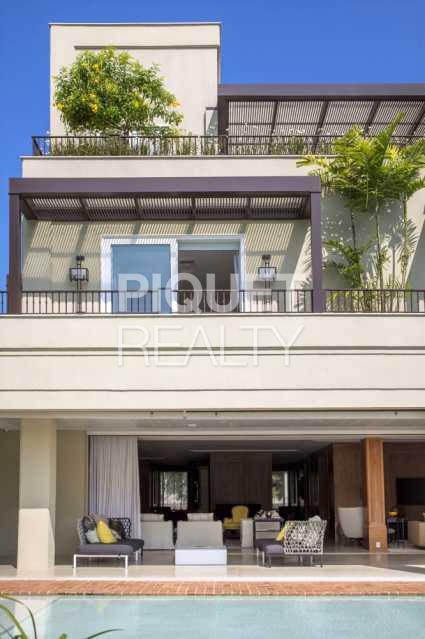 BACK - Casa em Condomínio 6 quartos à venda Rio de Janeiro,RJ - R$ 24.499.000 - 00044CA - 3