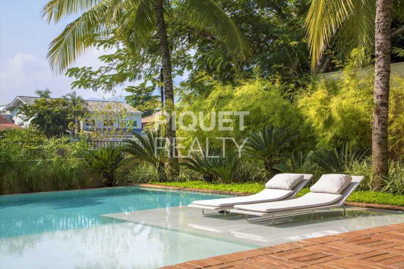 POOL - Casa em Condomínio 6 quartos à venda Rio de Janeiro,RJ - R$ 24.499.000 - 00044CA - 1