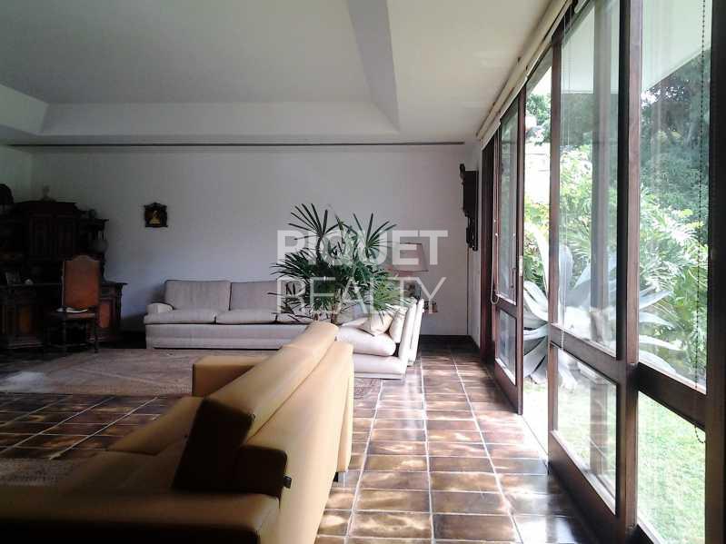 LIVING - Casa em Condomínio 5 quartos à venda Rio de Janeiro,RJ - R$ 7.999.000 - 00046CA - 8
