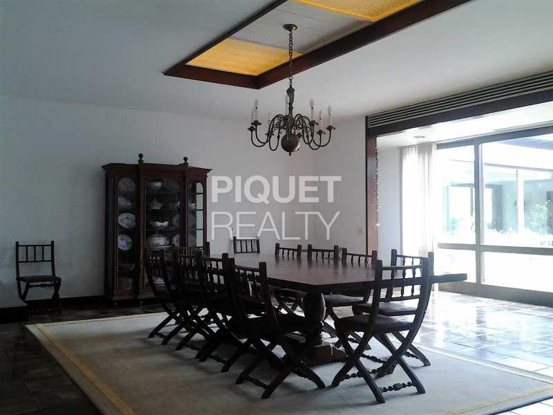 SALA DE JANTAR - Casa em Condomínio 5 quartos à venda Rio de Janeiro,RJ - R$ 7.999.000 - 00046CA - 10