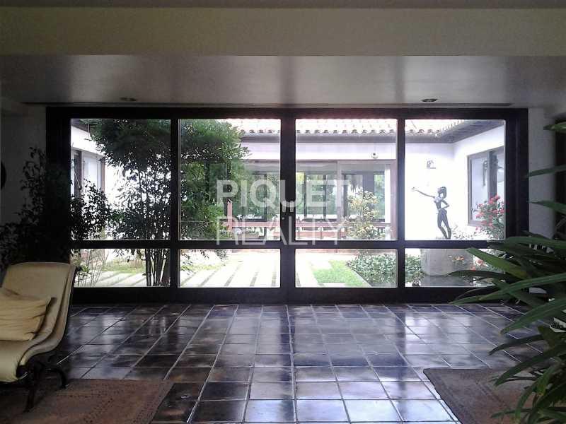 JARDIM DE INVERNO - Casa em Condomínio 5 quartos à venda Rio de Janeiro,RJ - R$ 7.999.000 - 00046CA - 11