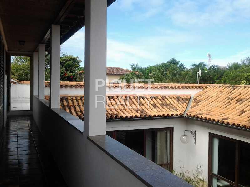 VARANDA DA MASTER - Casa em Condomínio 5 quartos à venda Rio de Janeiro,RJ - R$ 7.999.000 - 00046CA - 20