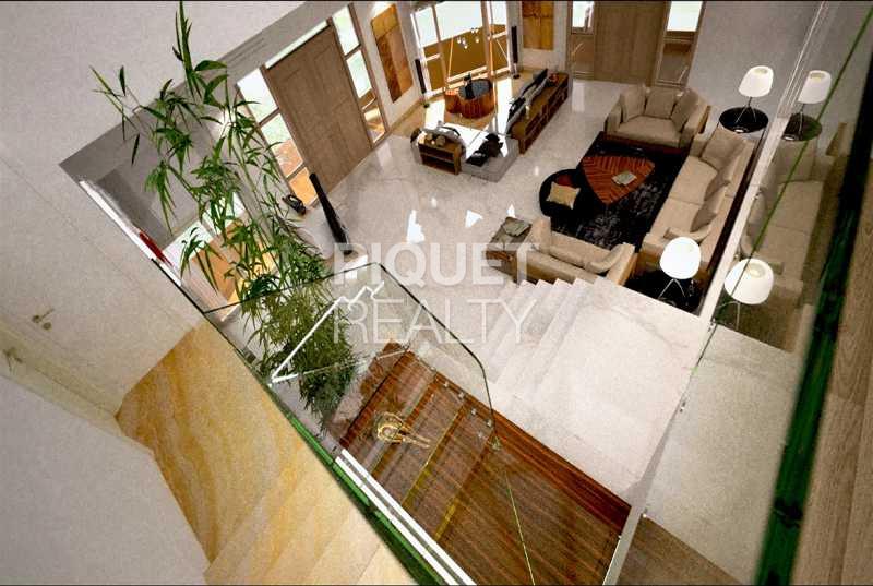 PROJETO - Casa em Condomínio 5 quartos à venda Rio de Janeiro,RJ - R$ 6.450.000 - 00079CA - 5