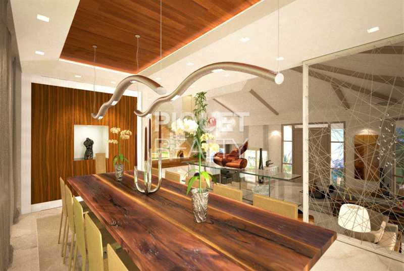 PROJETO - Casa em Condomínio 5 quartos à venda Rio de Janeiro,RJ - R$ 6.450.000 - 00079CA - 7