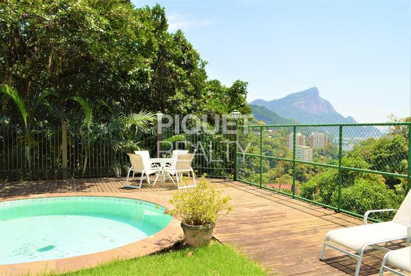 LAZER - Casa 3 quartos à venda Rio de Janeiro,RJ Gávea - R$ 3.990.000 - 00085CA - 4