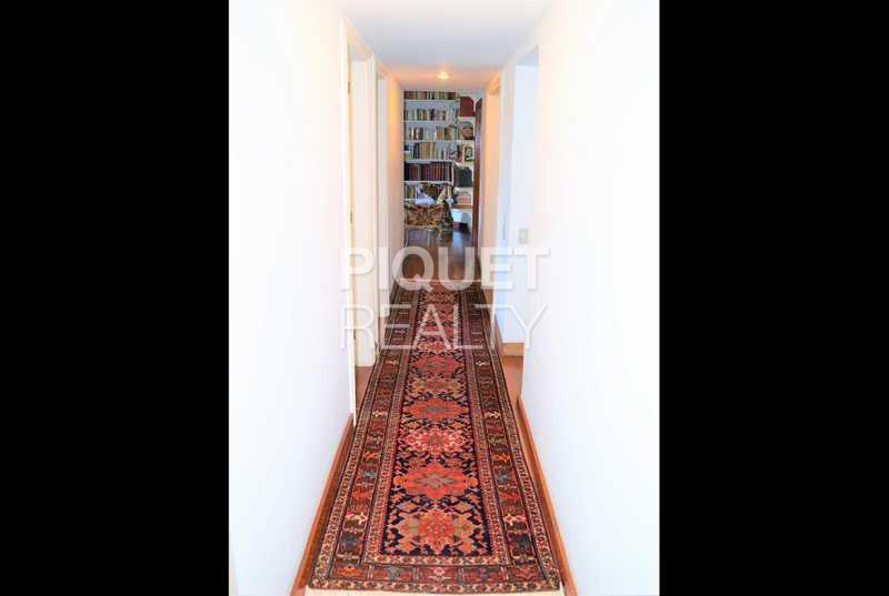 CORREDOR - Casa 3 quartos à venda Rio de Janeiro,RJ Gávea - R$ 3.990.000 - 00085CA - 24