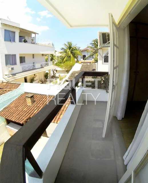 VARANDA QUARTO - Casa em Condomínio 4 quartos à venda Rio de Janeiro,RJ - R$ 3.499.000 - 00018CA - 24