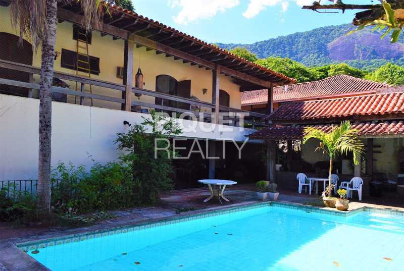 LAZER - Casa em Condomínio 4 quartos à venda Rio de Janeiro,RJ - R$ 2.300.000 - 00094CA - 1