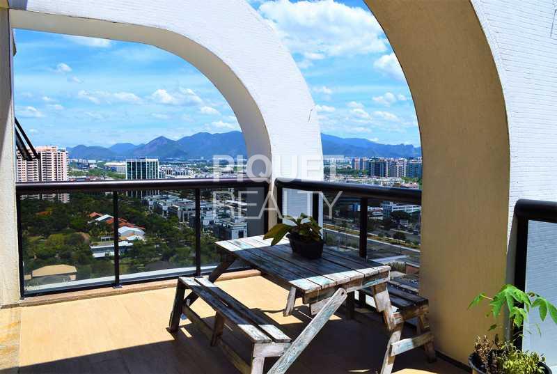 VARANDA - Apartamento 3 quartos à venda Rio de Janeiro,RJ - R$ 2.140.000 - 00093AP - 7