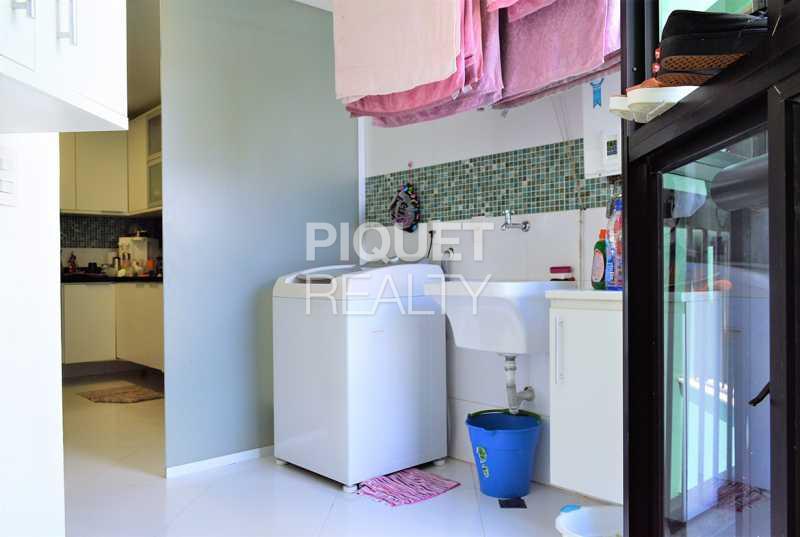 AREA DE SERVIÇO  - Apartamento 3 quartos à venda Rio de Janeiro,RJ - R$ 2.140.000 - 00093AP - 21