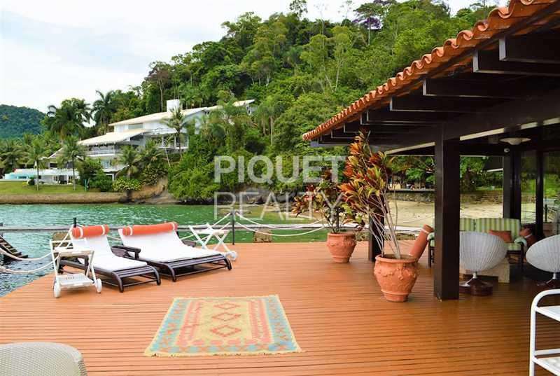 DECK - Casa em Condomínio 6 quartos à venda Angra dos Reis,RJ - R$ 12.000.000 - 00096CA - 4