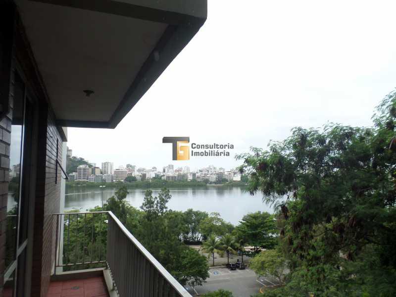 1 vista lagoa - Apartamento 2 quartos para venda e aluguel Lagoa, Rio de Janeiro - R$ 1.600.000 - TGAP20091 - 1
