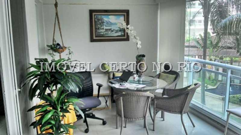 01 - Imóvel Apartamento À VENDA, Barra da Tijuca, Rio de Janeiro, RJ - ICAP30009 - 1