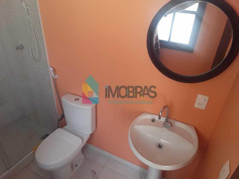 Banheiro Suíte - Terraço Cob - Casa de Vila Rua Pedro Américo,Catete, IMOBRAS RJ,Rio de Janeiro, RJ À Venda, 2 Quartos, 107m² - BOCV20022 - 24