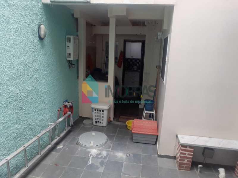 Varanda 2. - Casa de Vila Rua Pedro Américo,Catete, IMOBRAS RJ,Rio de Janeiro, RJ À Venda, 2 Quartos, 107m² - BOCV20022 - 16