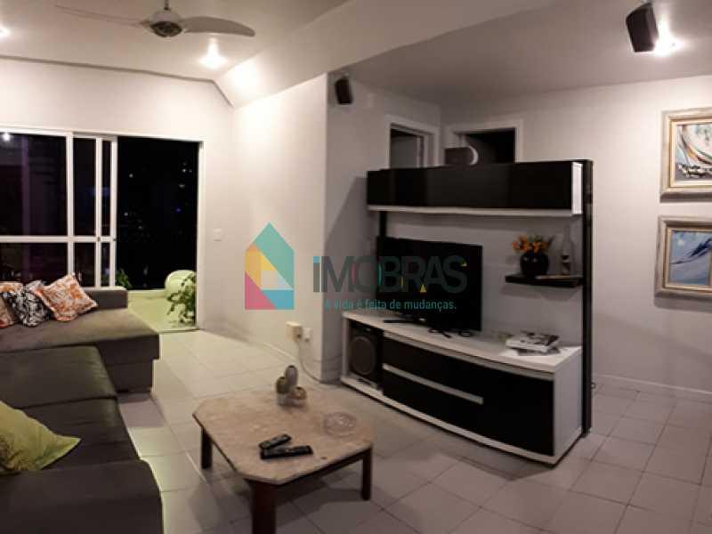 sala_2 - Cobertura à venda Rua Álvaro Ramos,Botafogo, IMOBRAS RJ - R$ 1.638.000 - BOCO30042 - 7