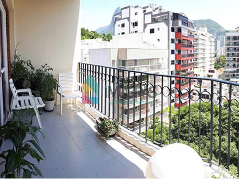 varanda_1 - Cobertura À Venda Rua Álvaro Ramos,Botafogo, IMOBRAS RJ - R$ 1.710.000 - BOCO30042 - 6