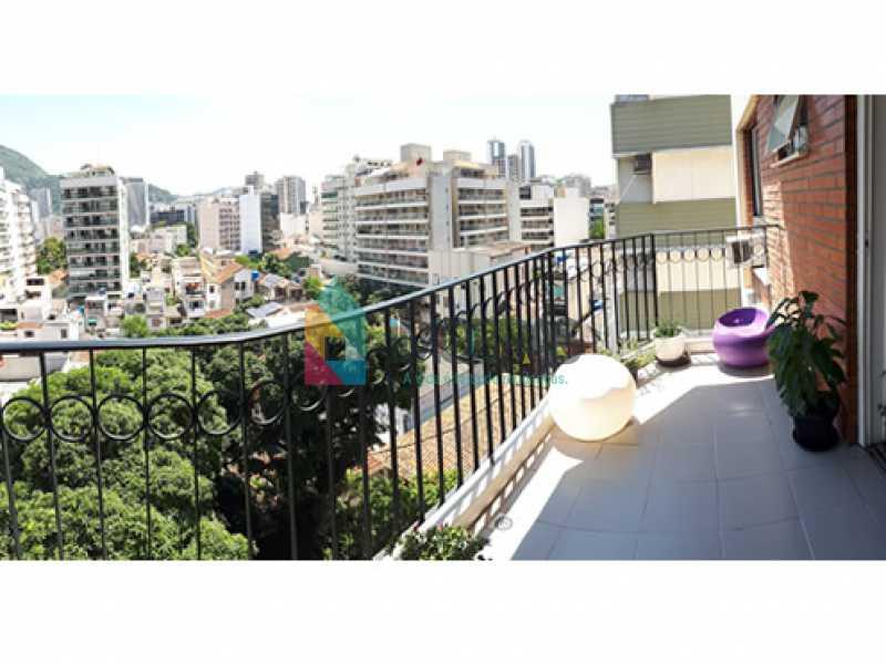 varanda_2 - Cobertura À Venda Rua Álvaro Ramos,Botafogo, IMOBRAS RJ - R$ 1.710.000 - BOCO30042 - 5
