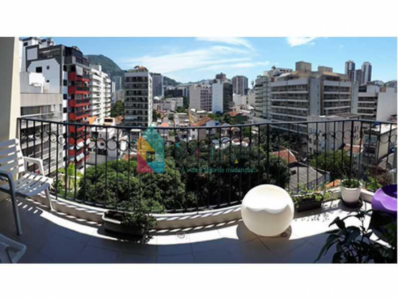 varanda_3 - Cobertura à venda Rua Álvaro Ramos,Botafogo, IMOBRAS RJ - R$ 1.638.000 - BOCO30042 - 1