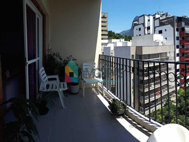 varanda_4 - Cobertura à venda Rua Álvaro Ramos,Botafogo, IMOBRAS RJ - R$ 1.638.000 - BOCO30042 - 3
