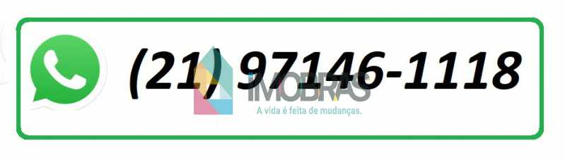 whtss - Casa de Vila 5 quartos à venda Botafogo, IMOBRAS RJ - R$ 2.450.000 - BOCV50003 - 27