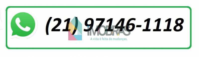 whtss - Casa À Venda Rua Visconde de Caravelas,Botafogo, IMOBRAS RJ - R$ 1.500.000 - BOCA40018 - 21