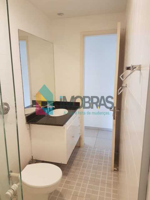 banheiro social - IMOBRASRJ VENDE!! Maravilhosa cobertura triplex na lagoa com 2 vagas escrituradas - BOCO30044 - 25