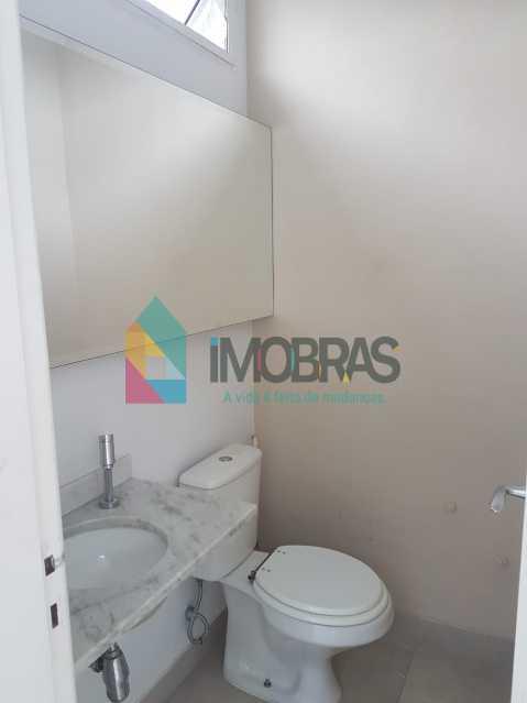 lavabo 2º andar - IMOBRASRJ VENDE!! Maravilhosa cobertura triplex na lagoa com 2 vagas escrituradas - BOCO30044 - 31