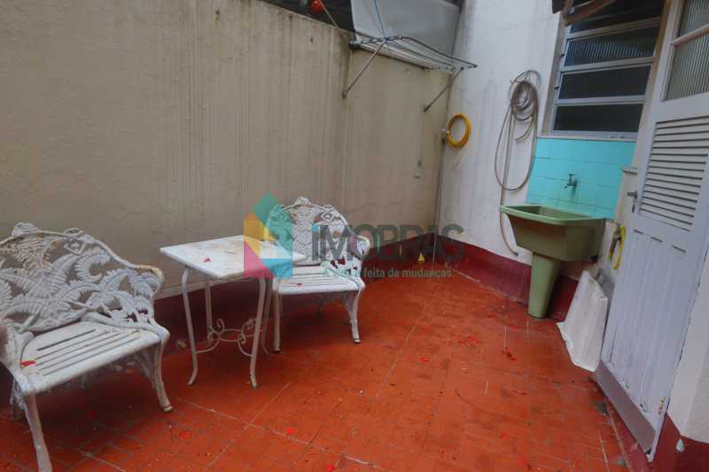 ÁREA   EXTERNA - Apartamento para alugar Rua do Humaitá,Humaitá, IMOBRAS RJ - R$ 2.500 - BOAP20795 - 5