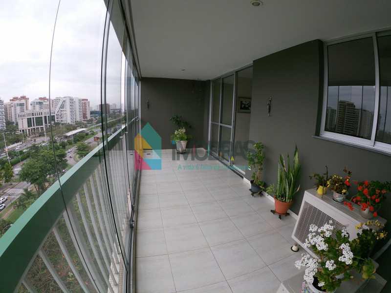 GOPR0234 - Apartamento vista mar com 04 quartos na Barra da Tijuca - BOAP40114 - 6