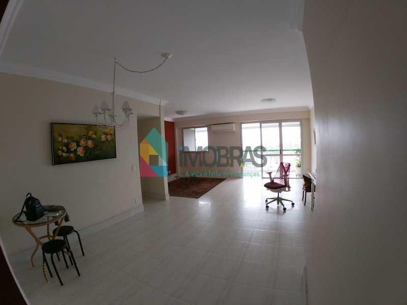 GOPR0266 - Apartamento vista mar com 04 quartos na Barra da Tijuca - BOAP40114 - 3