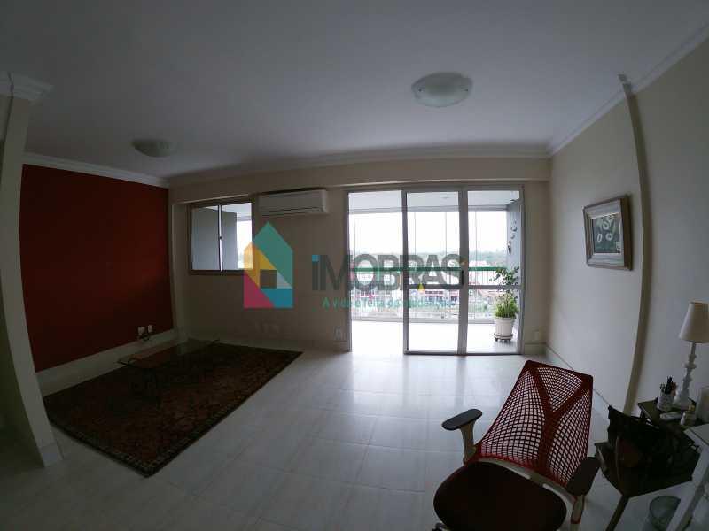 GOPR0269 - Apartamento vista mar com 04 quartos na Barra da Tijuca - BOAP40114 - 1