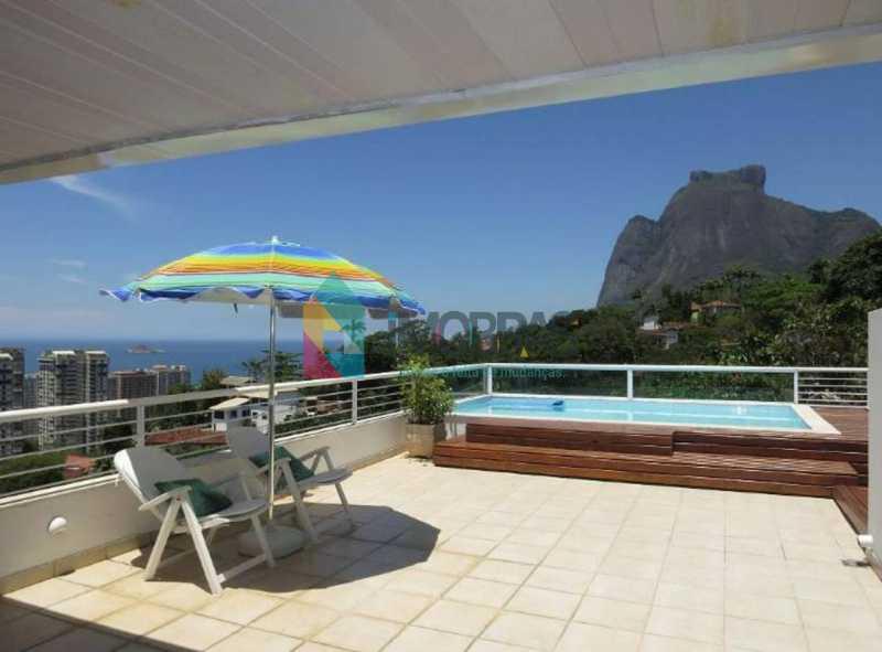 1 - Casa para alugar Rua Santa Glafira,São Conrado, IMOBRAS RJ - R$ 9.000 - CPCA40006 - 1