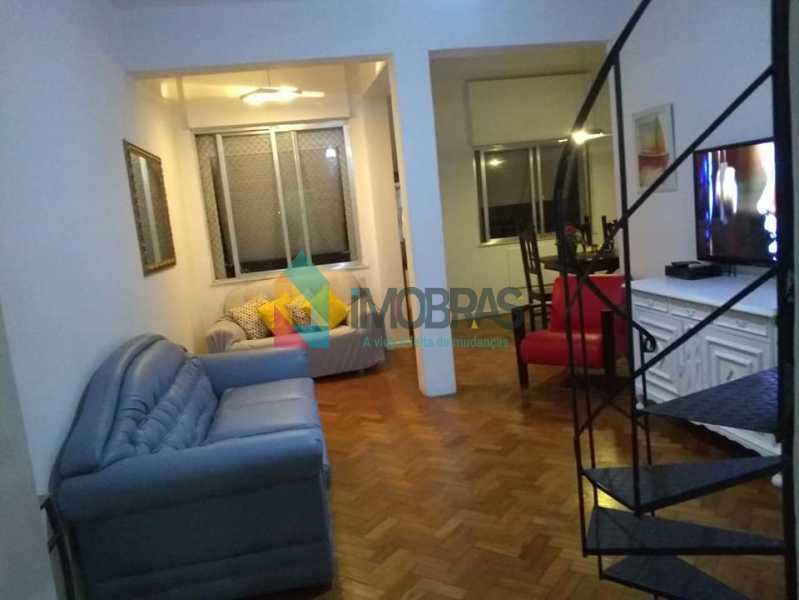 Escada Sala - Cobertura 3 quartos para alugar Copacabana, IMOBRAS RJ - R$ 2.900 - CPCO30046 - 4