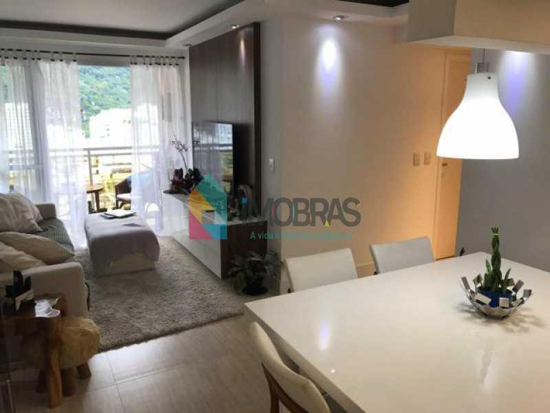 12 - Apartamento à venda Rua Macedo Sobrinho,Humaitá, IMOBRAS RJ - R$ 1.800.000 - BOAP20858 - 1