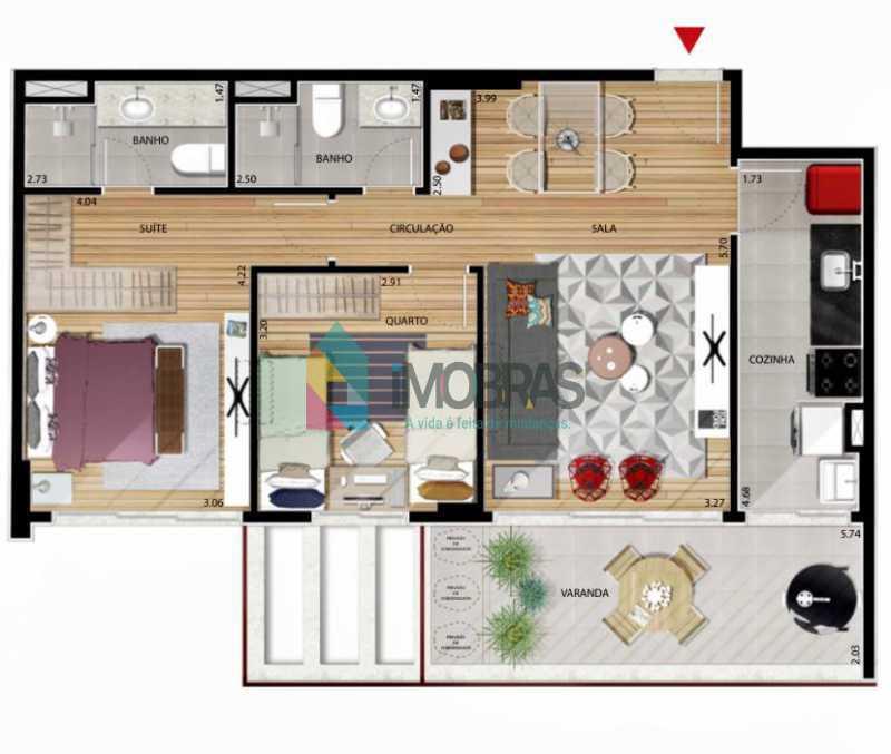 8ef3a4be-7ece-40a5-95b3-0b6b85 - Apartamento à venda Rua Carmela Dutra,Tijuca, Rio de Janeiro - R$ 920.000 - BOAP20988 - 4